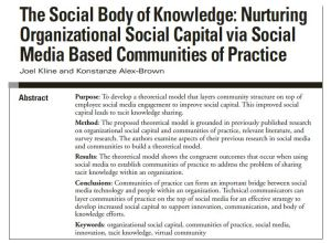 soc body of knowledge